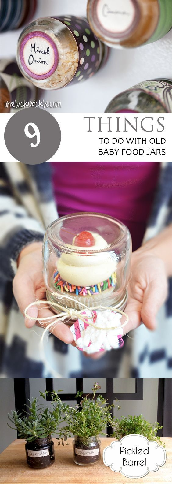 9 Things To Do With Old Baby Food Jars