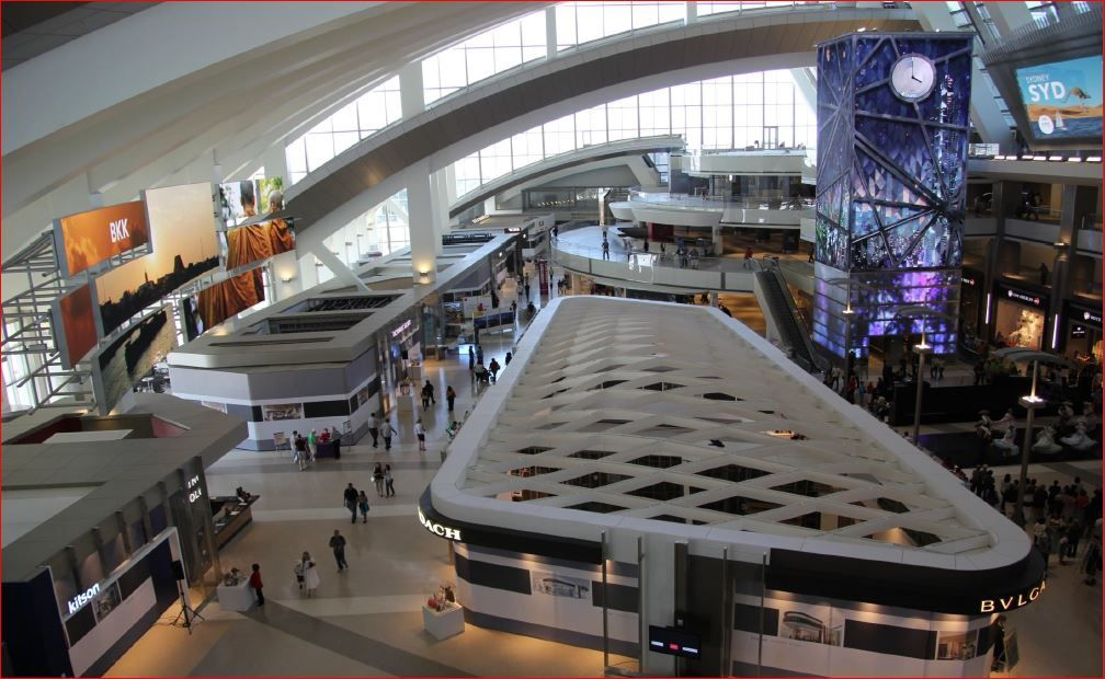 Future of LAX Once open the New Tom Bradley International Terminal TBIT G