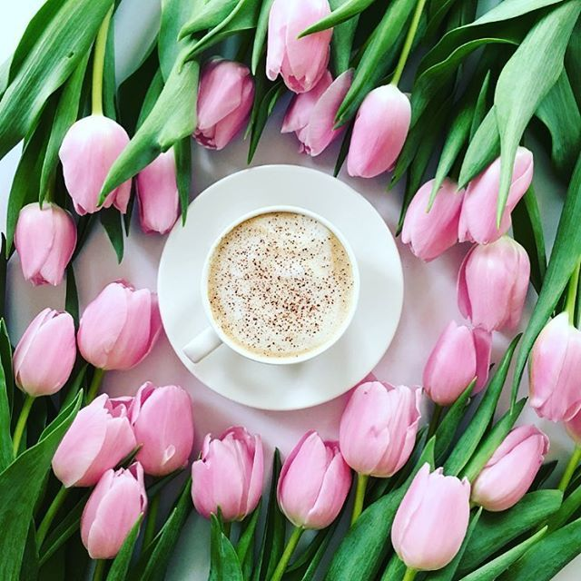 I See Spring In This Way Flowers And Coffee Coffee Flower Spring Coffee Coffee Obsession