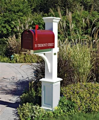St Andrews Mail Post Metal Mailbox Mailbox