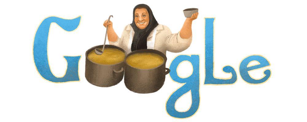 Adile Naşit homenajeada por Google en el 86 aniversario de su nacimiento. Doodleando, Los Logos de Google
