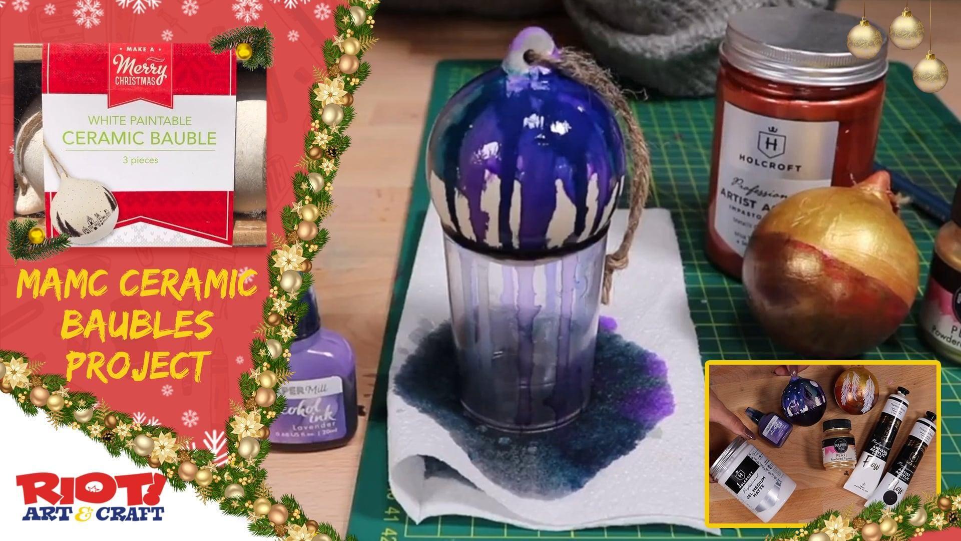 MAMC  Ceramic Baubles Project