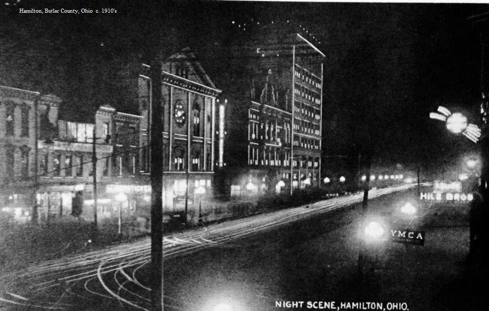Hamilton Butler County Ohio 1910 S Butte County Ohio Butler County