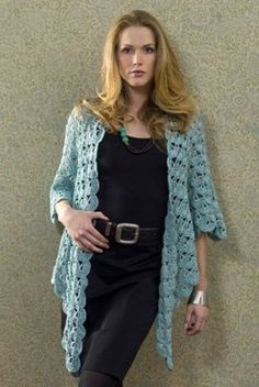 The popular Zen Jacket is a unique and beautiful free #crochet pattern you can make in any color. This pattern is one of our most popular!