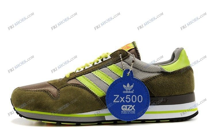 sconto adidas zx 500 uomini facendo le scarpe a comprare verde