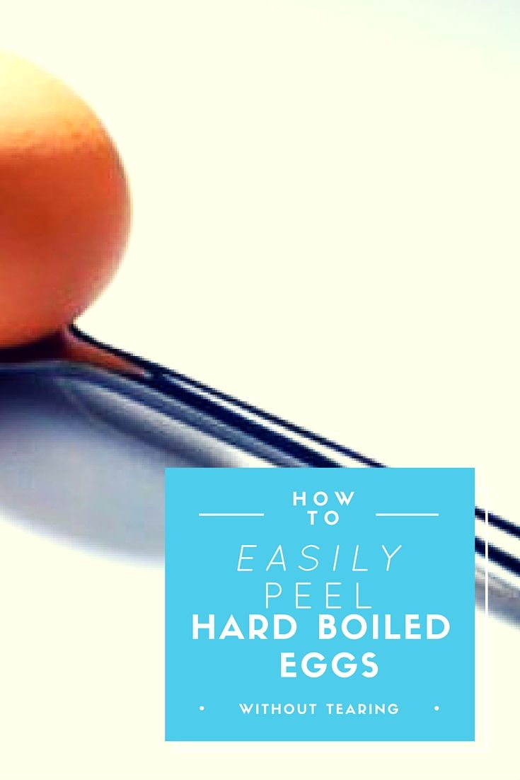 How To Peel Hard Boiled Eggs Easily I Cannot Believe How Simple This Makes  It