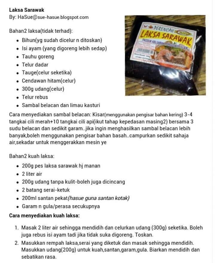 Laksa Sarawak Laksa Laksa Sarawak Curry Noodles