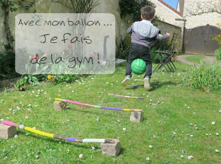 Un ballon un jardin des centaines de parcours cr er - Parcours du combattant jeu ...