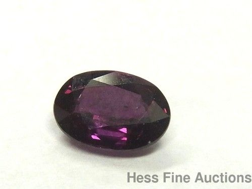 1.08ct Natural Ruby Solitaire 7 X 5mm Oval Cut Loose Unset Gemstone