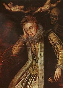 Elizabeth I Painted After 1620 During The First Revival Of