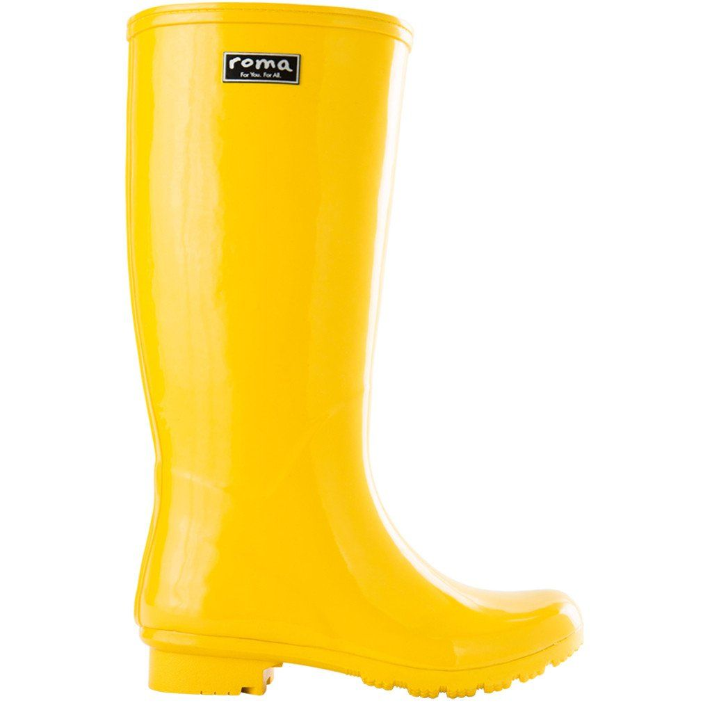 Pin By Roma Boots On Emma Collection Yellow Rain Boots