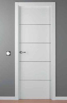 Puerta lacada blanca mod lac alho 4 porta blanca i for Puertas interior blancas economicas