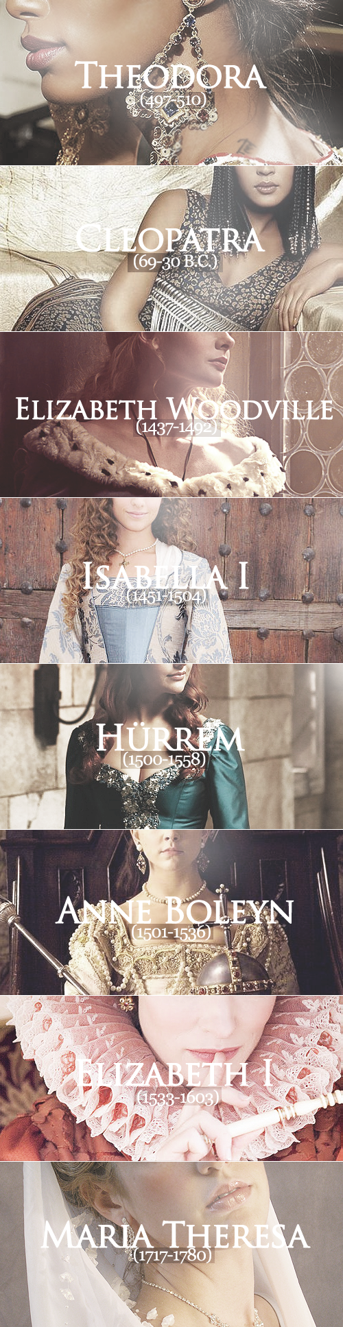 powerful queens throughout history