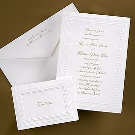 White Invitation With Dotted Border Recycled Papers A Dotted Frame Is Embossed Around Your Word Recycled Paper Wedding Invitations Dot Wedding Wedding Paper