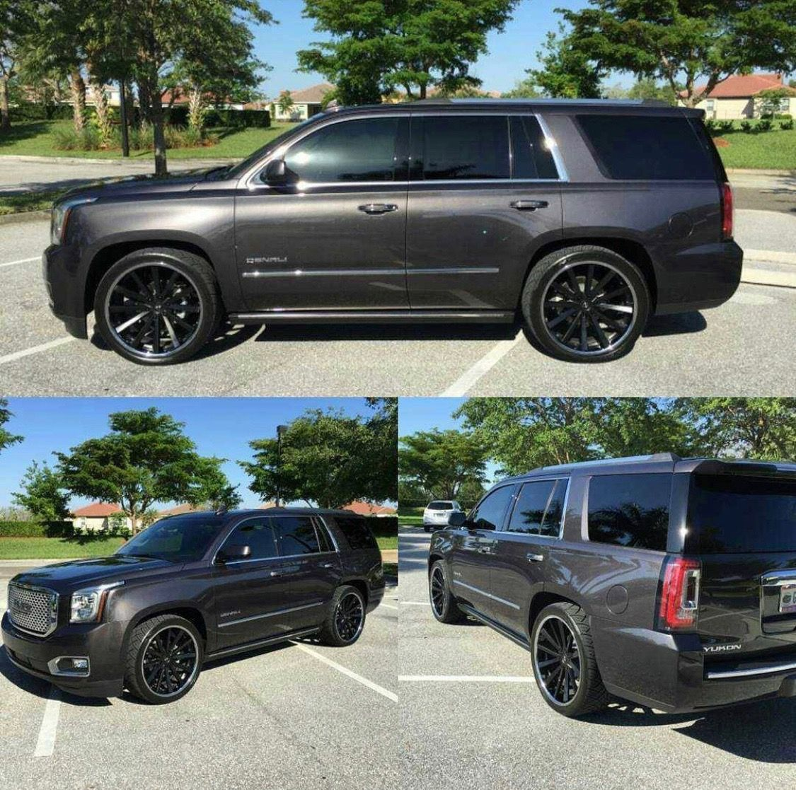 Charcoal Grey Yukon Denali All Angles Yukon Denali Gmc Trucks Gmc Yukon