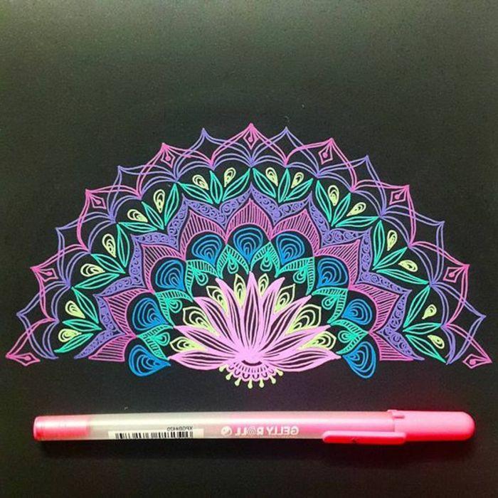 ▷ 1001+ ideas de dibujar mandalas fáciles e interesantes | Mandala ...
