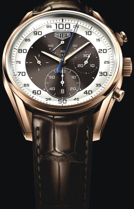 Acessórios Masculinos · Relógios Legais · The new Carrera Mikrograph  limited edition automatic chronograph watch by the Swiss horological  company Tag Heuer 1ef06e0cab