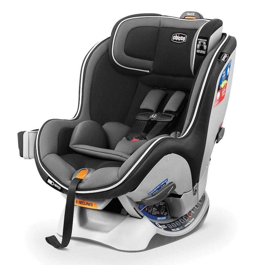 Chicco Nextfit Zip Convertible Car Seat Carbon Baby Car Seats