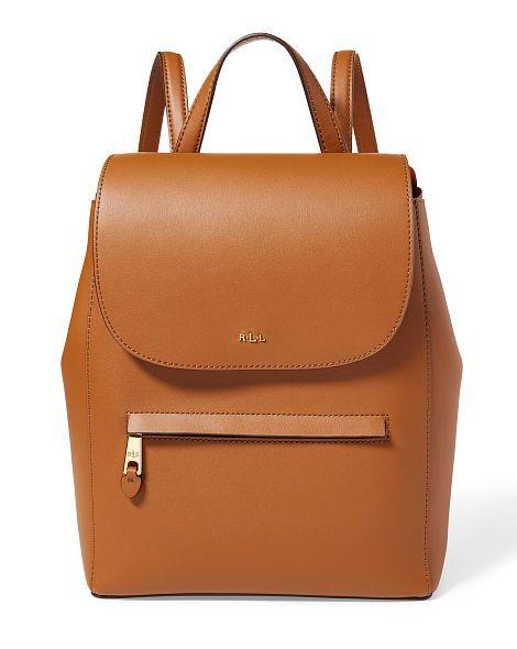 b38430aa0af8 Leather Ellen Backpack - Lauren Lauren Whites - RalphLauren.com ...