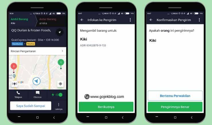9 Cara Mudah Menjalankan Order Grabexpress Terbaru 2020 Jalan Aplikasi Pelayan