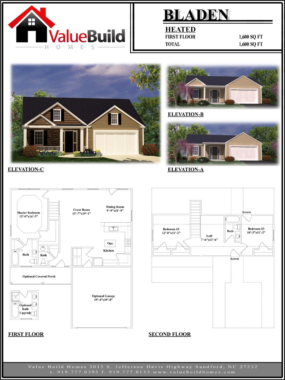 bladen house plan custom floor plans by value build homes bladen house plan custom floor plans by value build homes