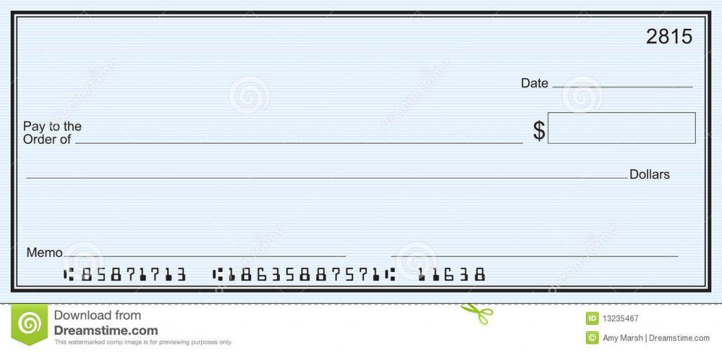 Checks Template Word Free Blank Check Template Blank Checks