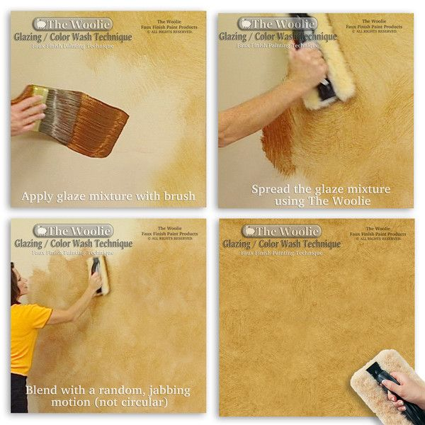 The Woolie Official Faux Finish Paint Tool 100 Sheepskin Pad Faux Painting Techniques Sponge Painting Walls Faux Painting