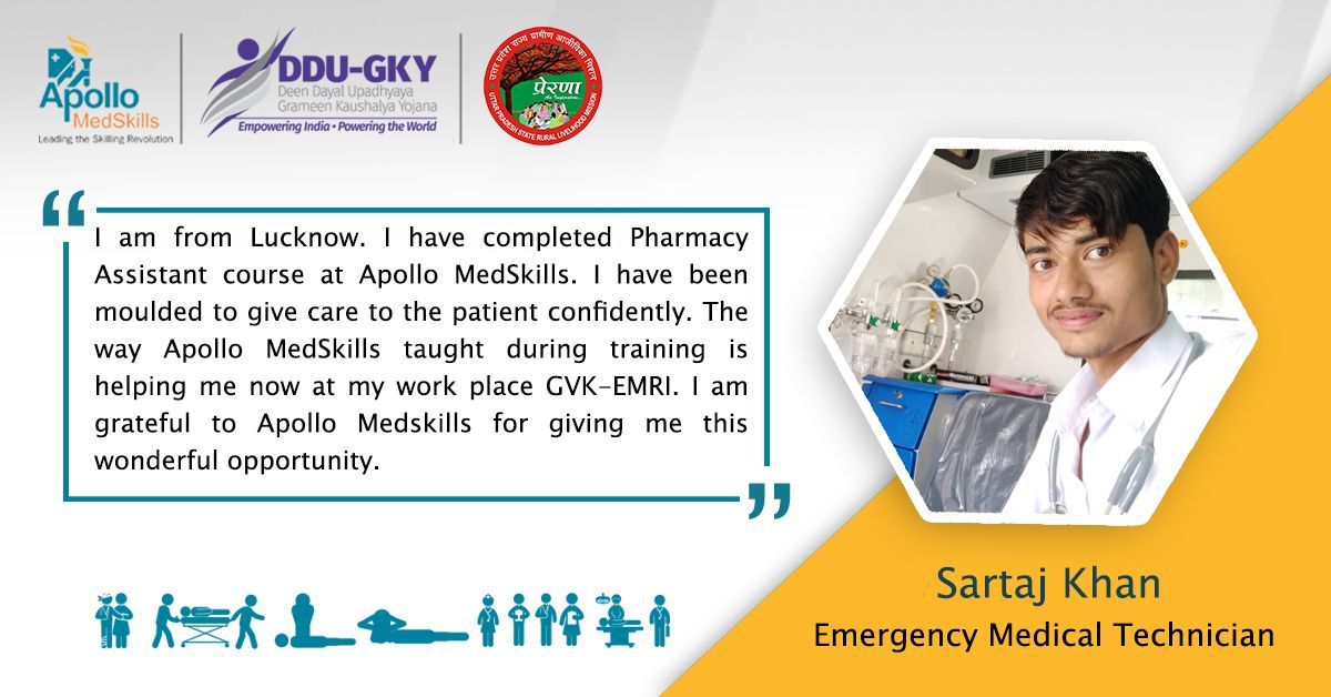 """""""ApolloMedSkills training taught me how to save life"""