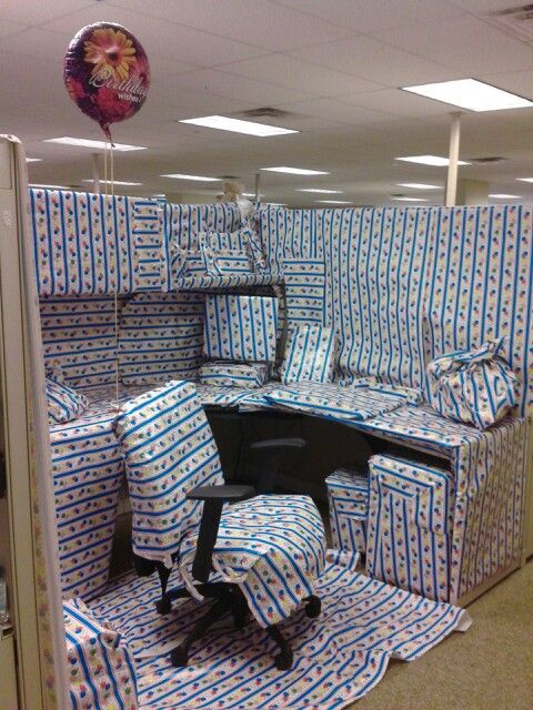 How To Decorate A Desk surprise birthday party in the office - google search | b-day