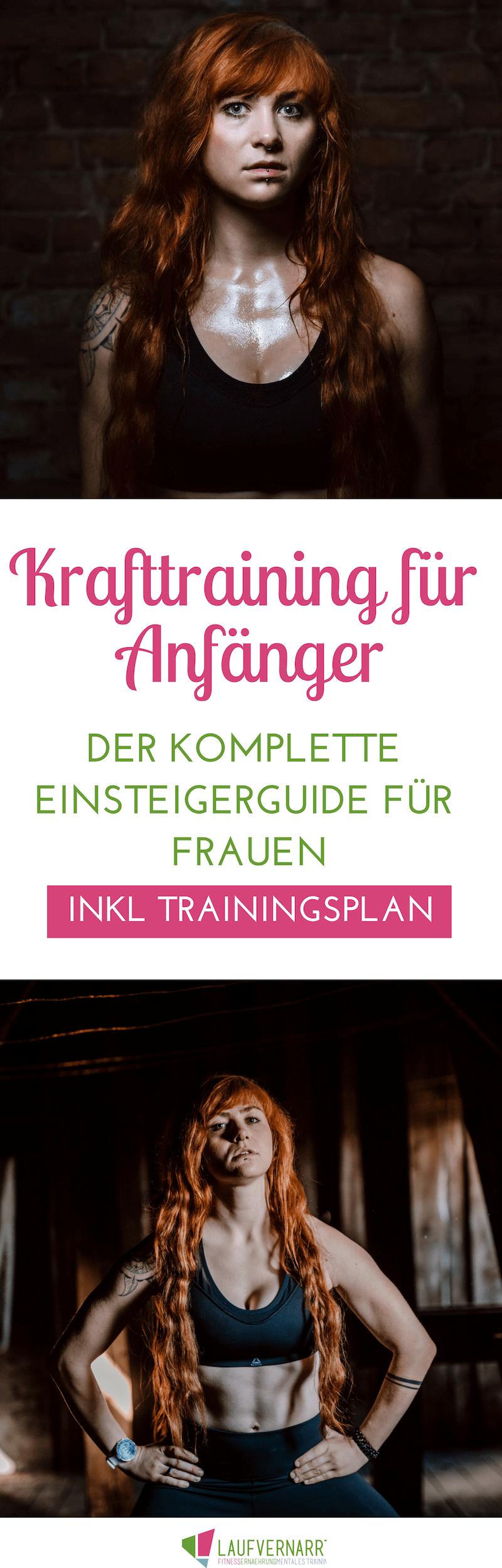 Frauen & Fitness: Krafttraining für Anfängerinnen - Der komplette Einsteigerguide (inkl. Trainingspl...