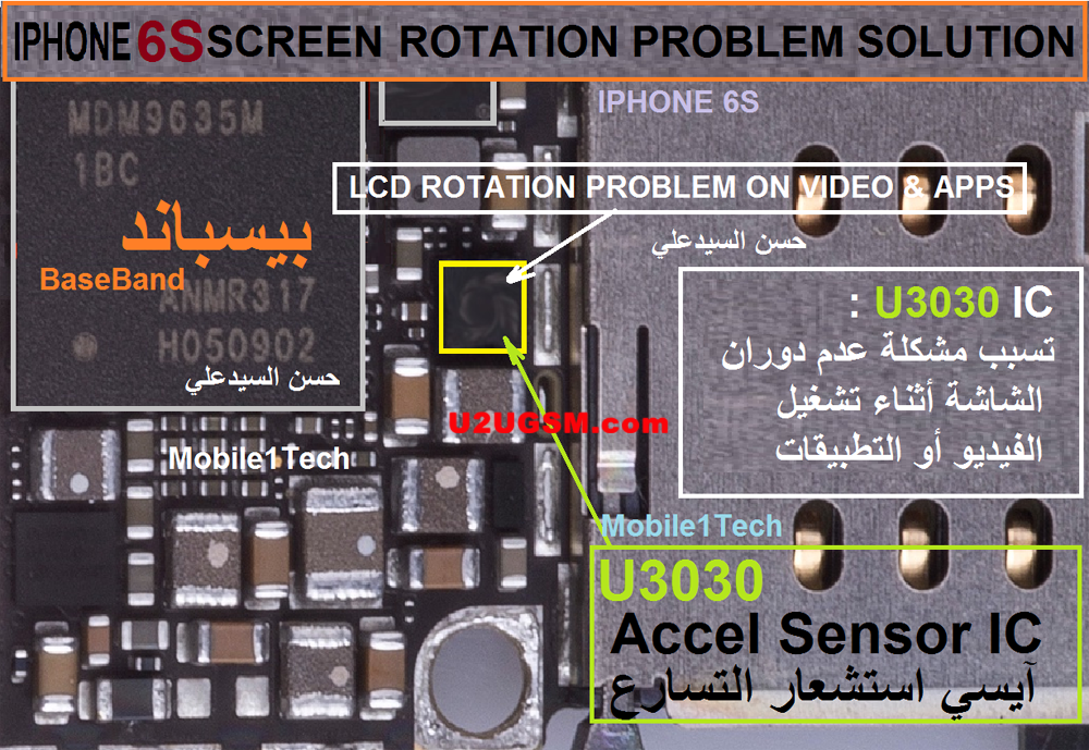 check out ce852 cf247 iPhone 6S Rotation Problem Solution Fixed | Jumper | Iphone, Iphone ...