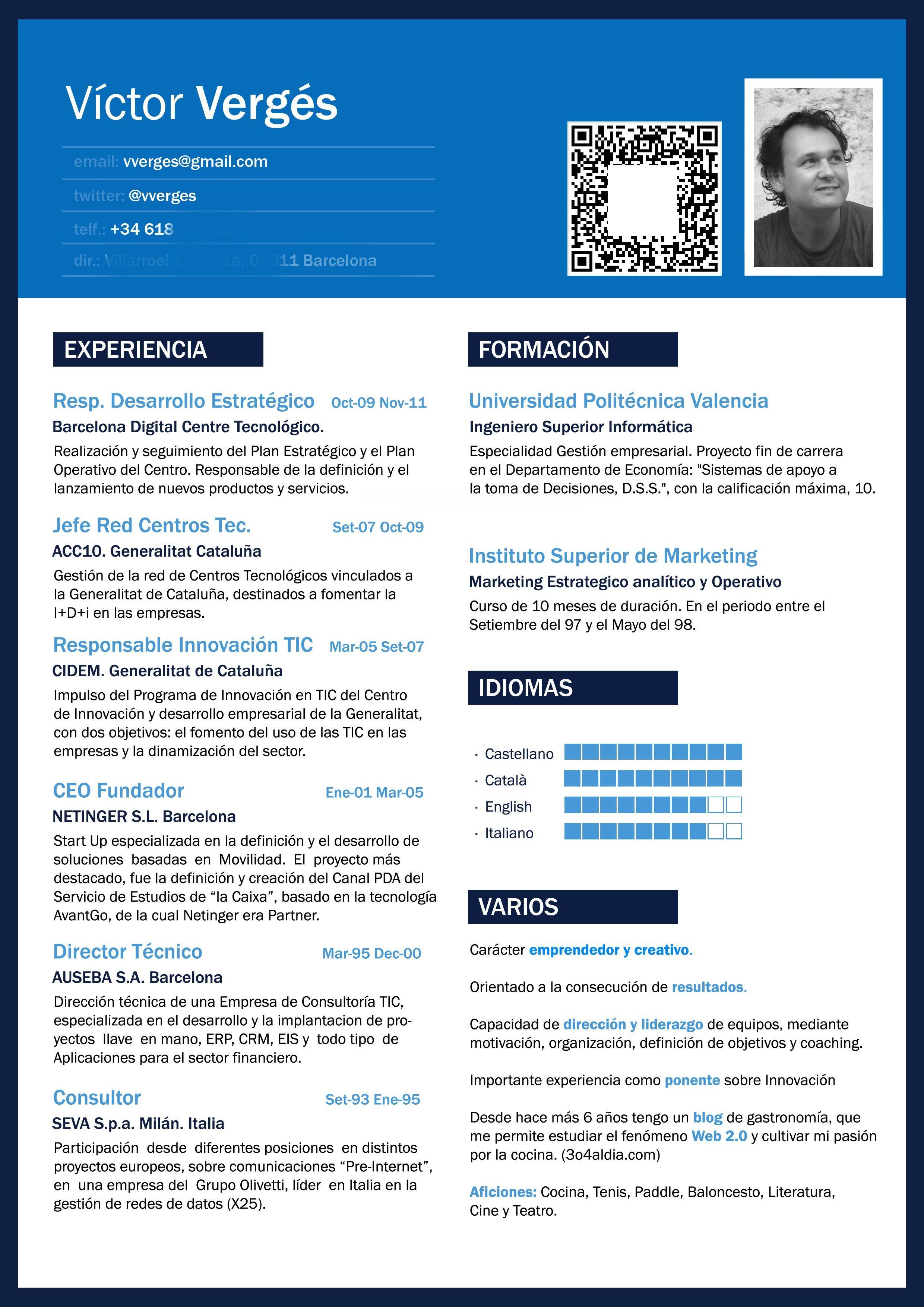 My Curriculum Vitae | cv | Pinterest | Plantilla cv, Currículum y ...
