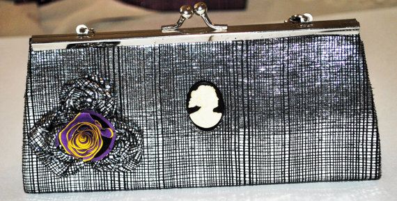Evening Wear Clutch BagMakeup Clutch BagHand by GinasCornerCrafts, $16.00