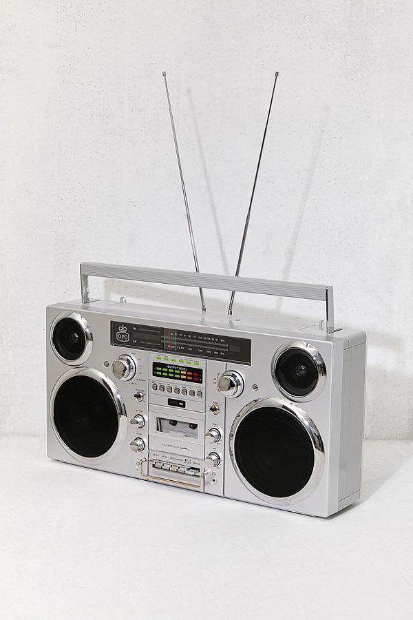 GPO Brooklyn Portable Boombox + Music System