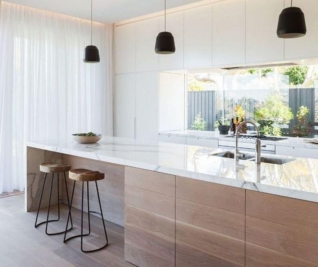 Cozy Scandinavian Kitchen Design Ideas 01 Di 2020