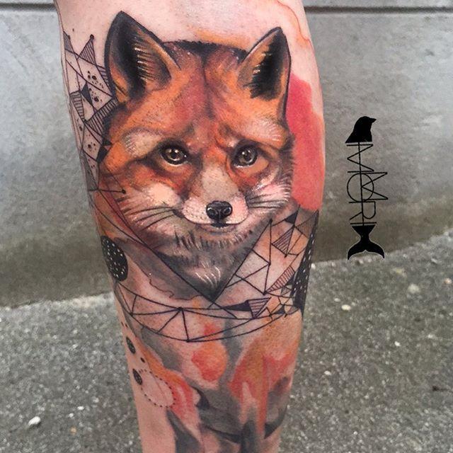 Fox progress @momori_ink #fox #foxtattoo #watercolor @tattoo_art_worldwide @tattooistartmag @tattoos_of_insta @tattoo_of_the_world_ @tattoo_of_the_day @tattoo_of_instagram @germantattooers