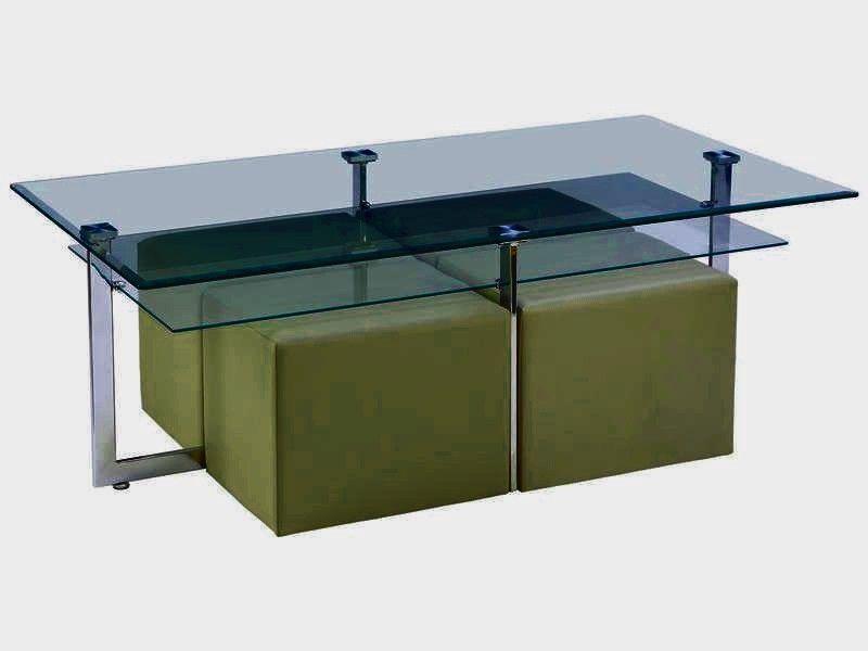 Table Basse Poufs Elgaro Conforama En Verre G 580499 Di 2020