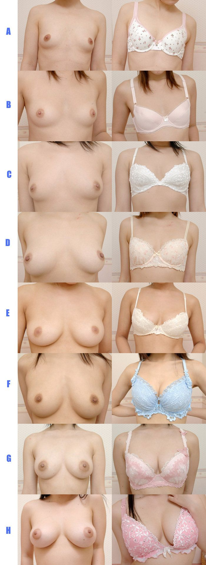 naked boob bra sizes xxx