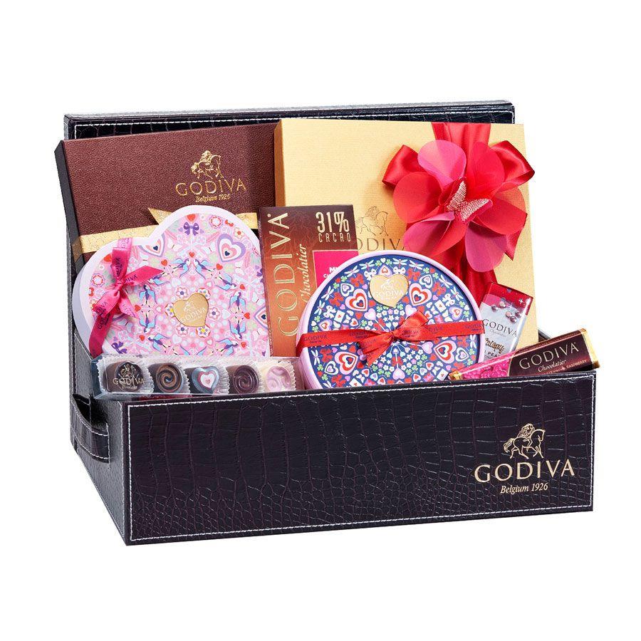 Godiva romantic luxurious hamper the ultimate belgian