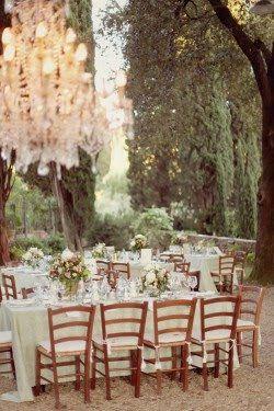 The Wedding Decorator A Romantic Tuscany Wedding Tuscany Wedding Outdoor Wedding Backyard Wedding