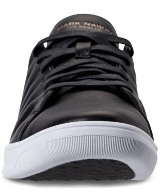 sports shoes 35065 8b7f3 Mark Nason Los Angeles Men s Caprock Casual Sneakers from Finish Line -  Black 11.5