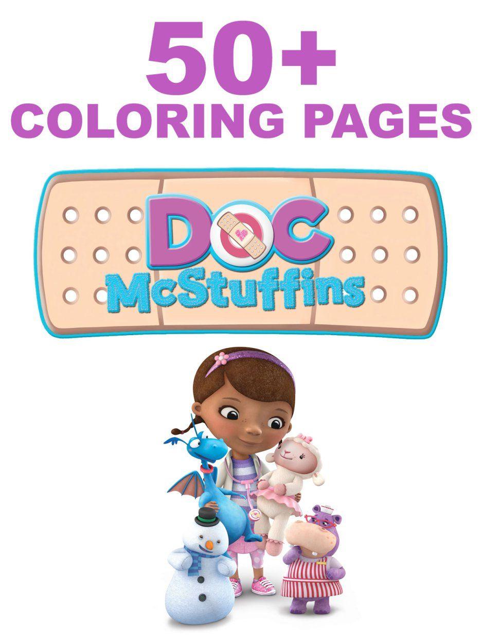 50 Doc McStuffins Coloring Pages + New DVD | Epic Preschool Ideas ...