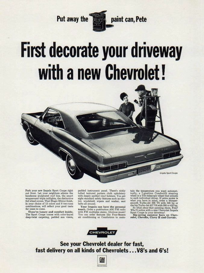 Pin On Chevy Advertising