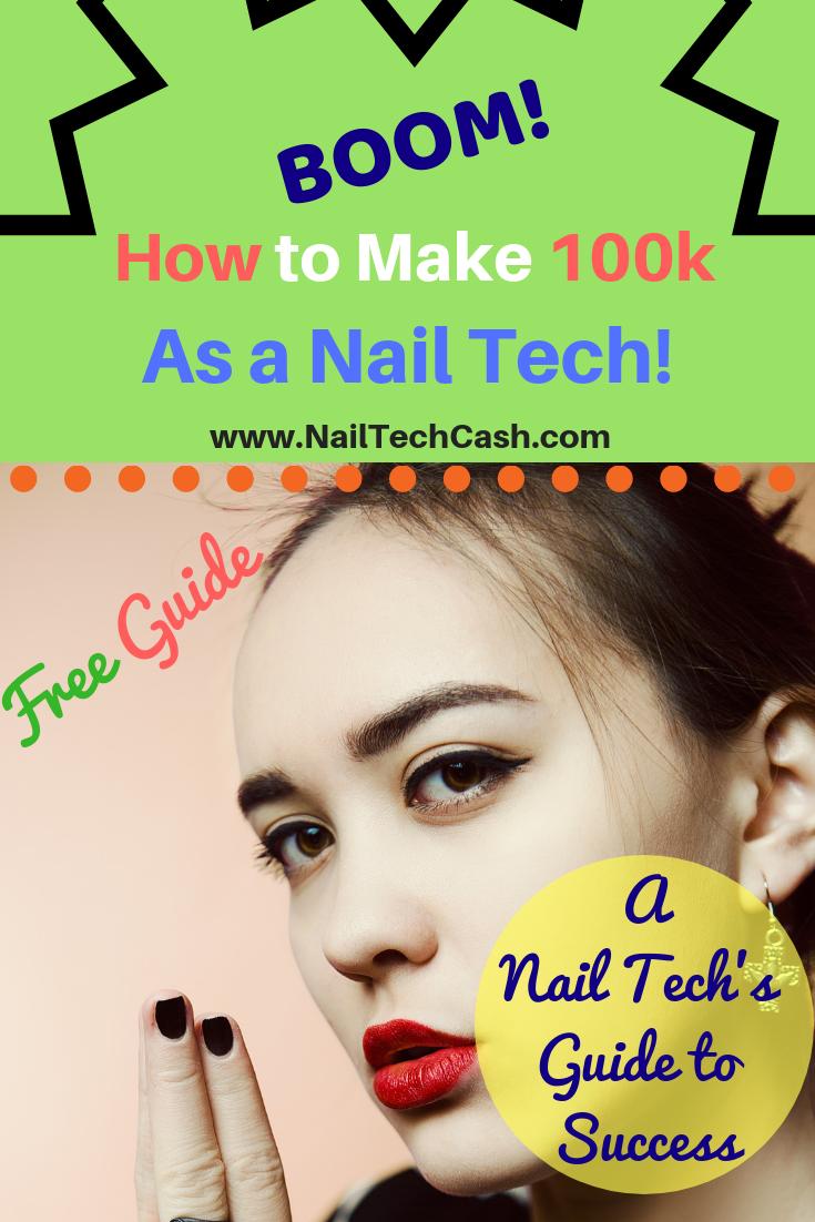 Boom! Making money as a Nail Tech. Yas! nails nailart
