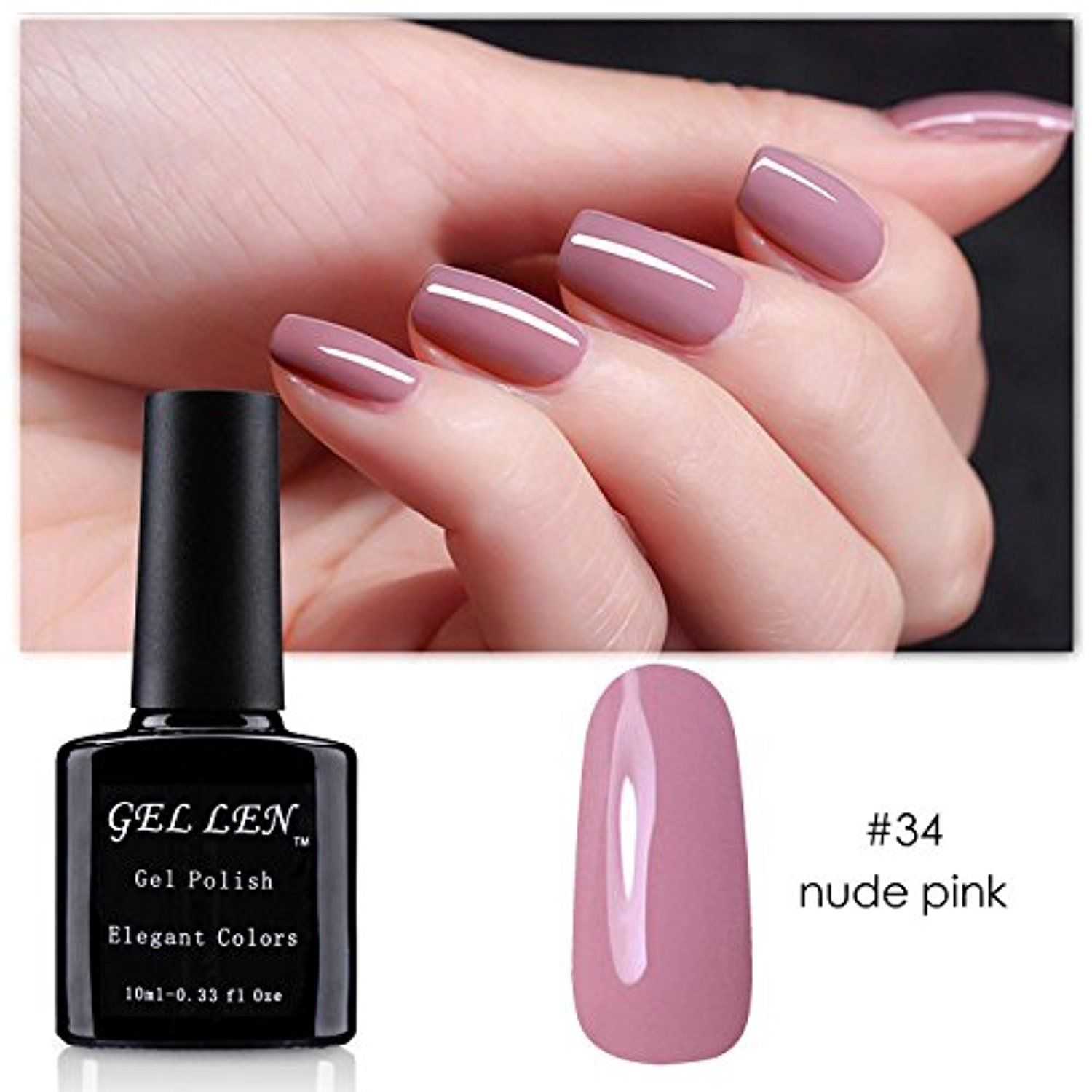 Gellen Best Sell 30 Colors Series Uv Gel Nail Polish 1pc 10ml Nail Art Color 034 Click Image To Review More D Nail Polish Uv Gel Nail Polish Gel Nail Polish