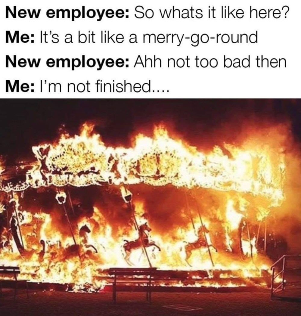 Need New Job Meme