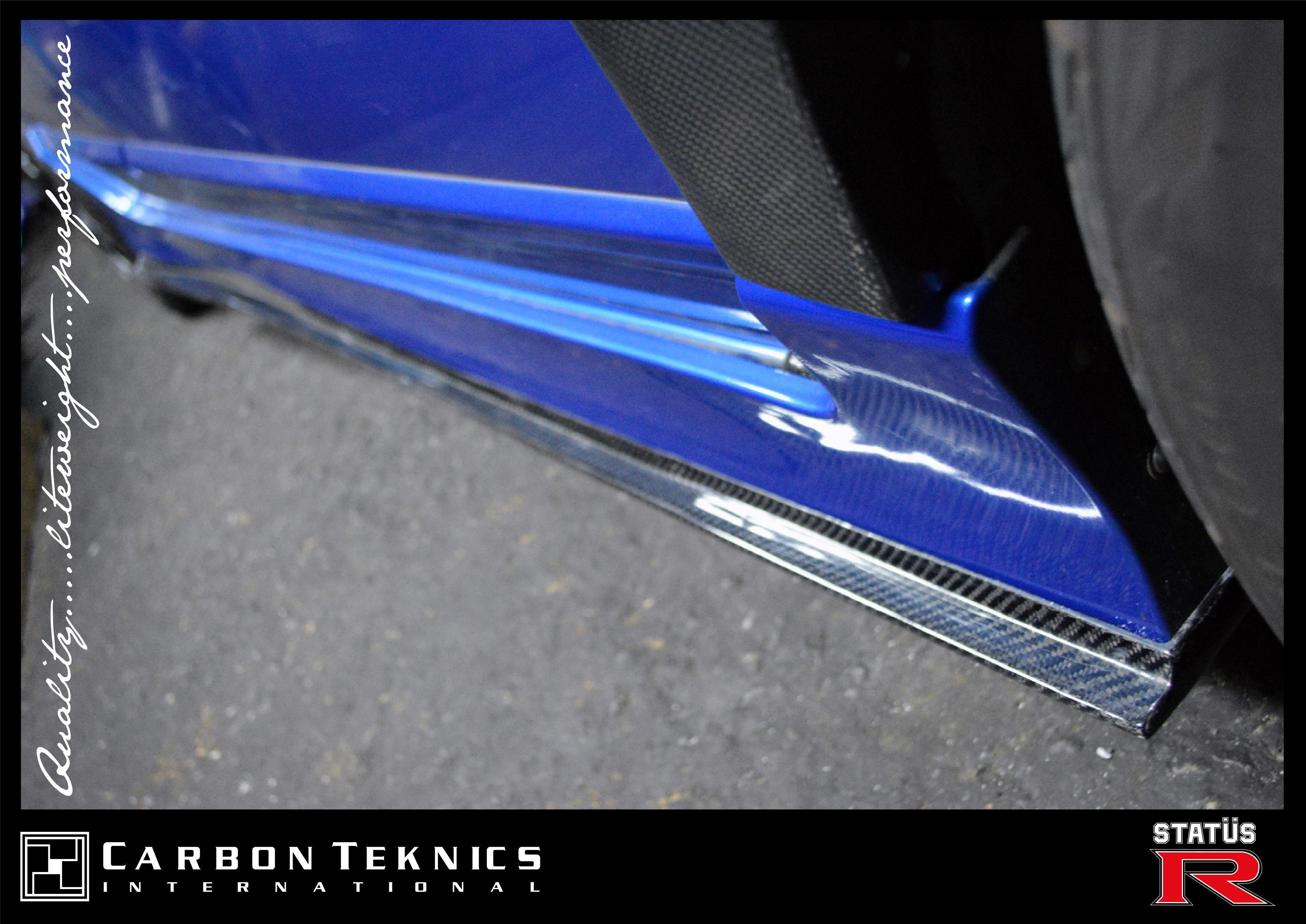 Carbon Fiber Cs Style Side Skirt Lips For The Civic Fd2r Photo 03 Carbon Fiber Civic Photo