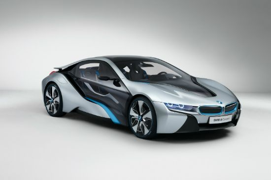 Futuristic Looking BMW I8 Sports Concept Heading To Production In 2013