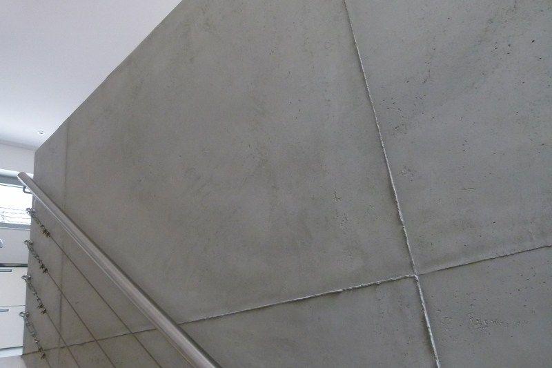 Estrich Bad betonoptik béton ciré design estrich puristische oberflächen zum