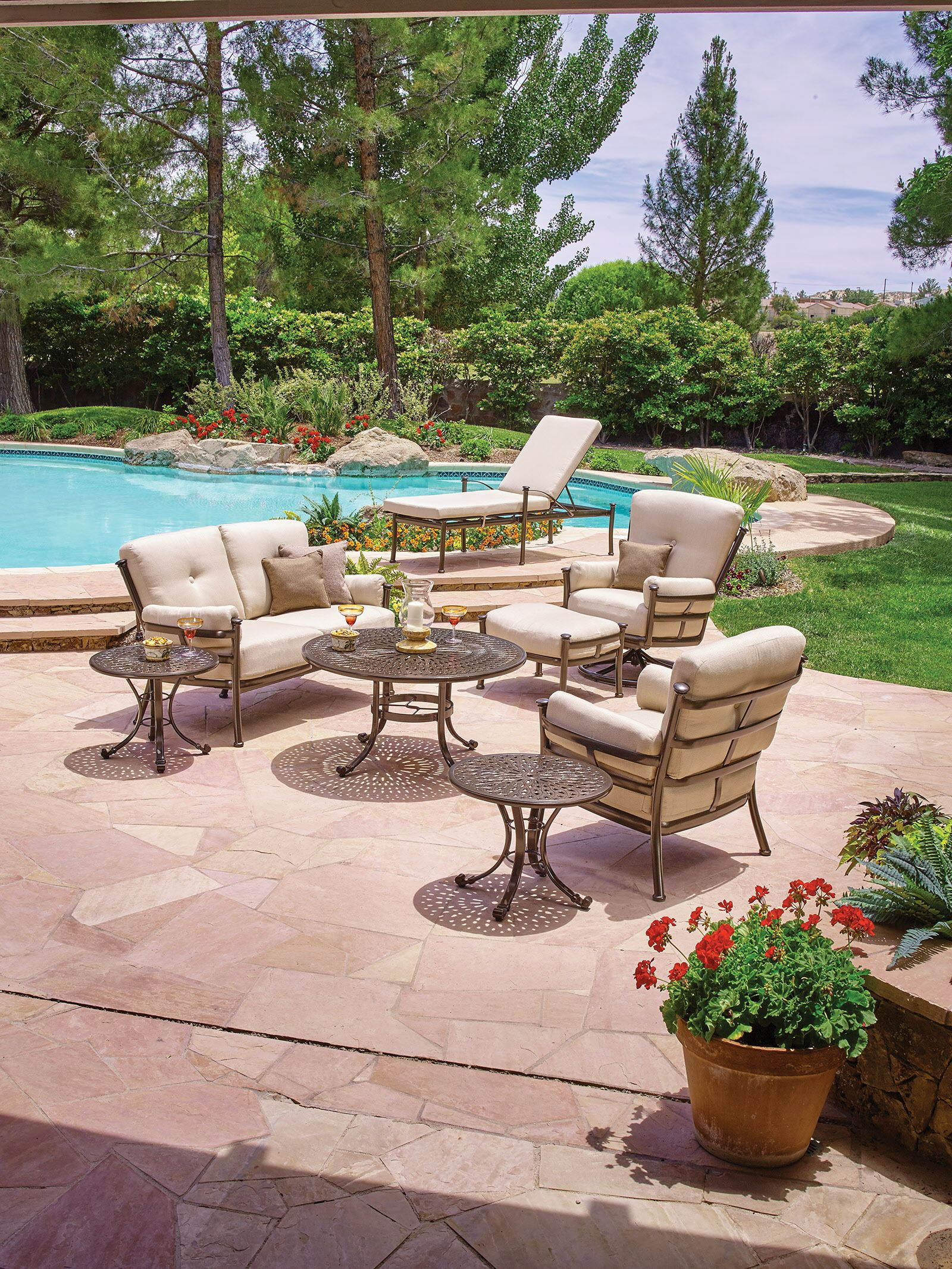Click for details Patio furniture dining set, Luxury
